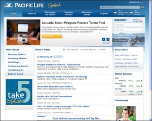 Intranet de Pacific Life (2011)